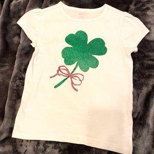 Vintage Crazy 8 Shamrock shirt  shirt size 7-8